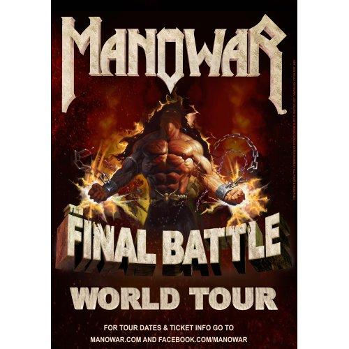 Manowar im Zenith in München – 24.11.2017, The Final Battle