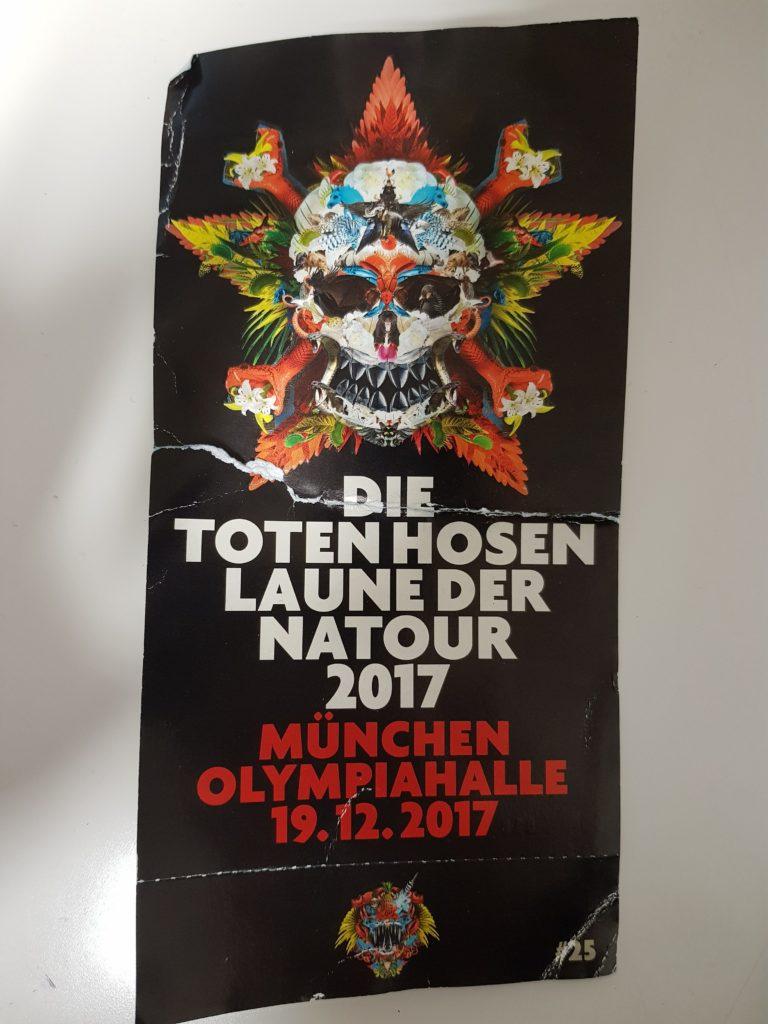 Tote Hosen Konzert München 19.12.2017