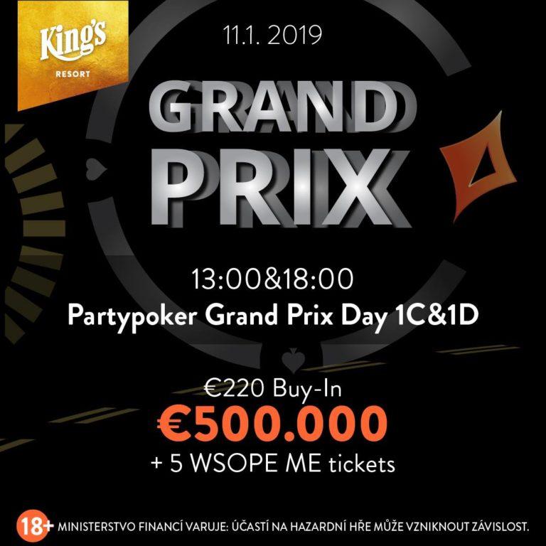 Partypoker Grand Prix, Januar 2019, Kings Casino Rozvadov