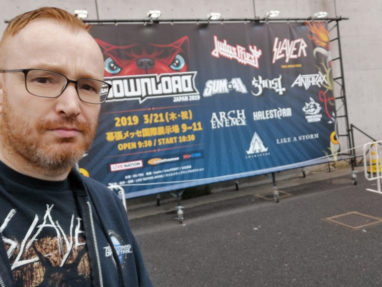 (u.a.) SLAYER in Tokyo (beim Download-Festival), 21.03.2019