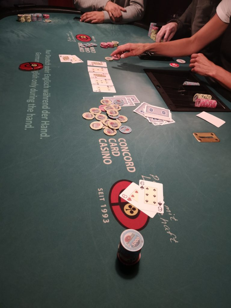 Poker-Turnier-Ladies-Night in Kufstein am 19.09.2019 – Maybe it´s time to quit Poker…