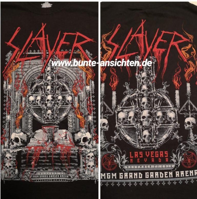 Slayer-Konzert (& andere) in Las Vegas, 27.11.2019
